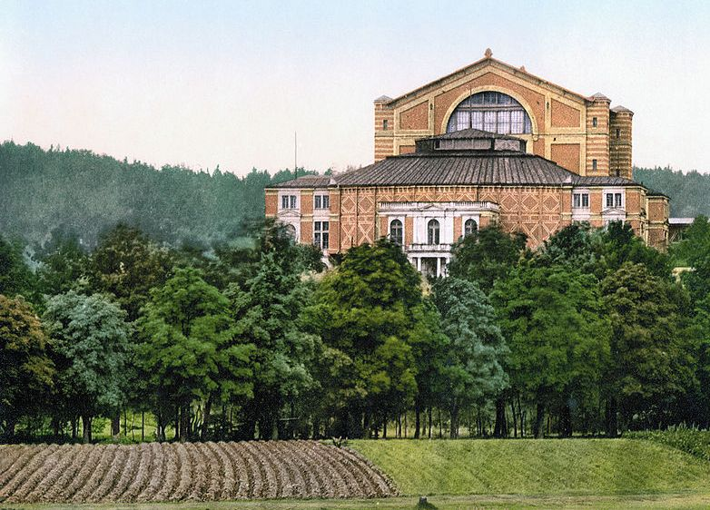 festspielhaus um 1900